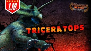 Triceratops Battle of Match : Vote to win
