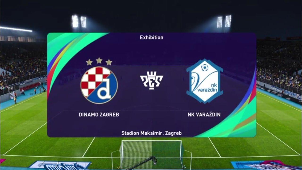 Dinamo Zagreb Vs Nk Varazdin Pes 21 Prva Liga Live Gameplay Youtube