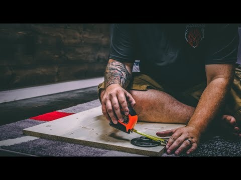 Building A Custom DIY Desk/Table | Primal Life Vlog - 031