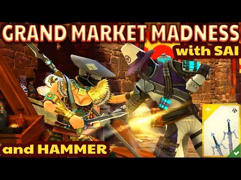 Shadow Fight 3. Grand Market Madness. I'm SO GOOD with Legendary Sai!