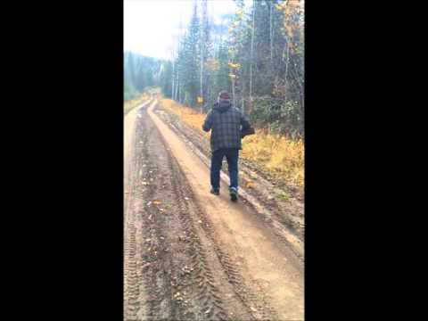Cariboo Grouse Hunting October 2015