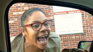 Road Rage Mother Stabs Car