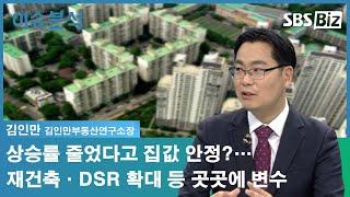 [이슈분석] 상승률 줄었다고 집값 안정?…재건축·DSR…