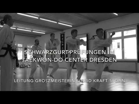 Dan Prüfungen, am 12.8.2017 im Taekwon-do Center Dresden