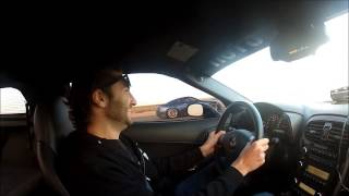 Cammed C6 Z06 vs Bolt-on 2012 GTR - 1/2 Mile - Airstrip Race