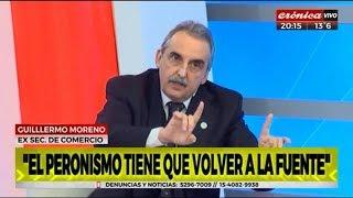 Guillermo Moreno en Cronica TV  11/07/18