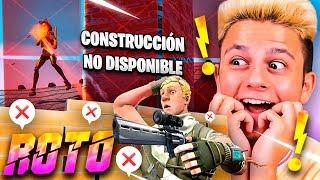 ¡EL RETO DE LA CONSTRUCCIÓN ROTA EN FORTNITE!! - Ampeterby7