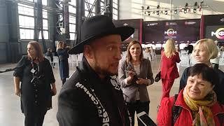 Игорь Гуляев на Международном форуме моды в Петербурге октябрь 2019