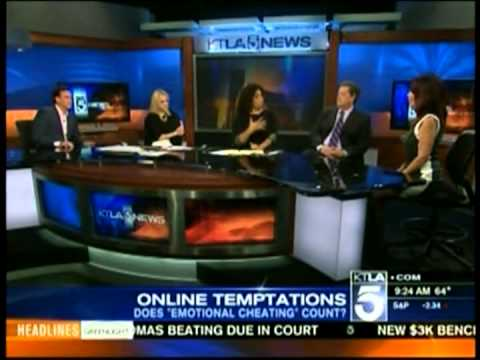 Cheating on the Web - Dr. Sheri Meyers on KTLA Morning News