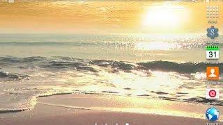 Морской рассвет живые обои для ОС Андроид