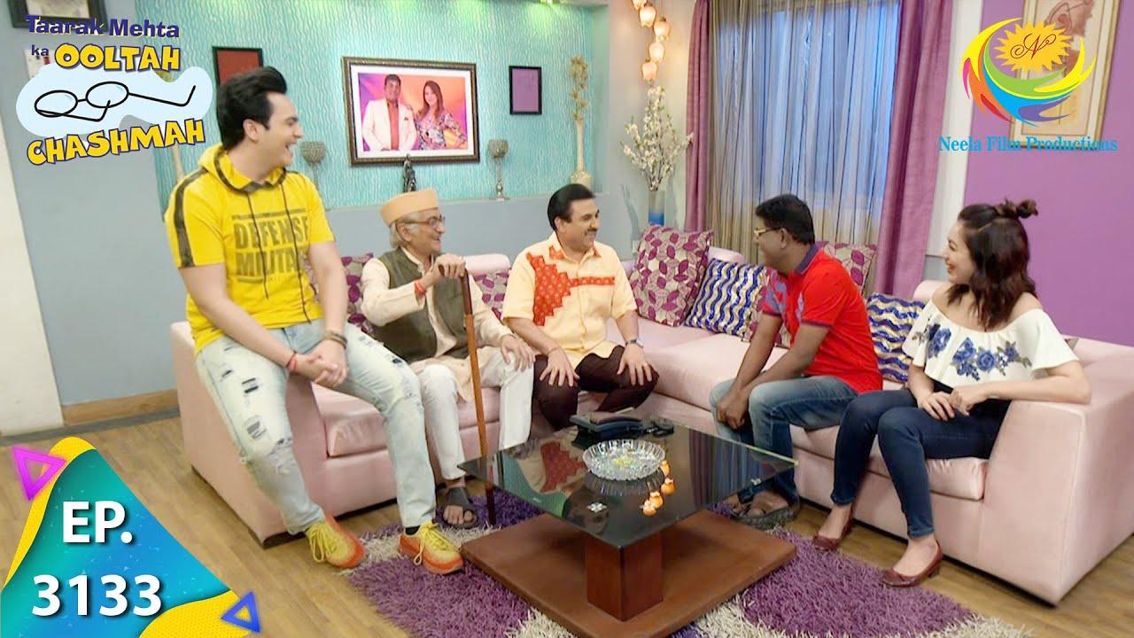 Download Taarak Mehta Ka Ooltah Chashmah - Ep 3133 - Full Episode - 30th March, 2021