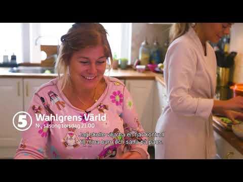På torsdag är det äntligen dags! Wahlgrens värld 21.00 på Kanal 5