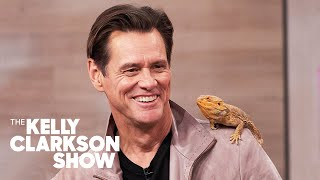 Jim Carrey Pretends He's Ace Ventura While Meeting Wild Animals With Coyote Peterson