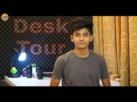 desk-tour!-[2017]-l-in-hindi-l