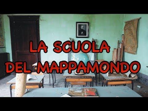 LA SCUOLA DEL MAPPAMONDO - THE GLOBE SCHOOL - URBEX ITALY - URBEX LADY