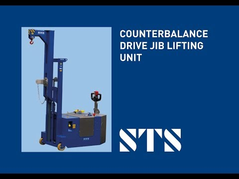 STS - Counterbalance Electric-drive Jib Lifting Unit (STE05-CJF01) Material Handling Equipment
