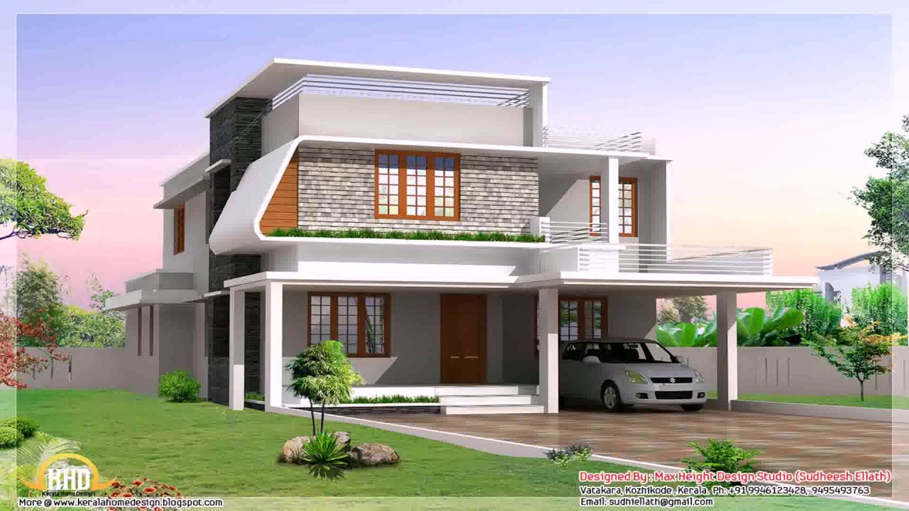 3 Bedroom House Design 1200 Sq Ft 3D - Modern House