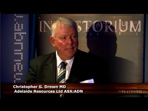Adelaide Resources (ASX:ADN) MD Chris Drown Presents at Investorium.tv