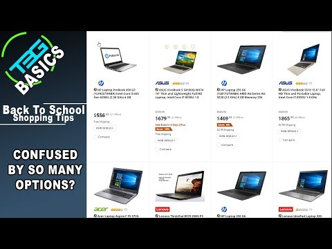 Back to School Planning: How to Buy a Laptop