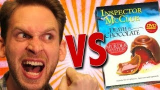 Inspector Mcclue Death By Chocolate Game Unboxing