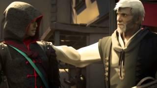 Assassin's Сreed IV Black Flag Отбор Асасинов для исследования (Альтаир, Эцио, Авелина, Коннор)