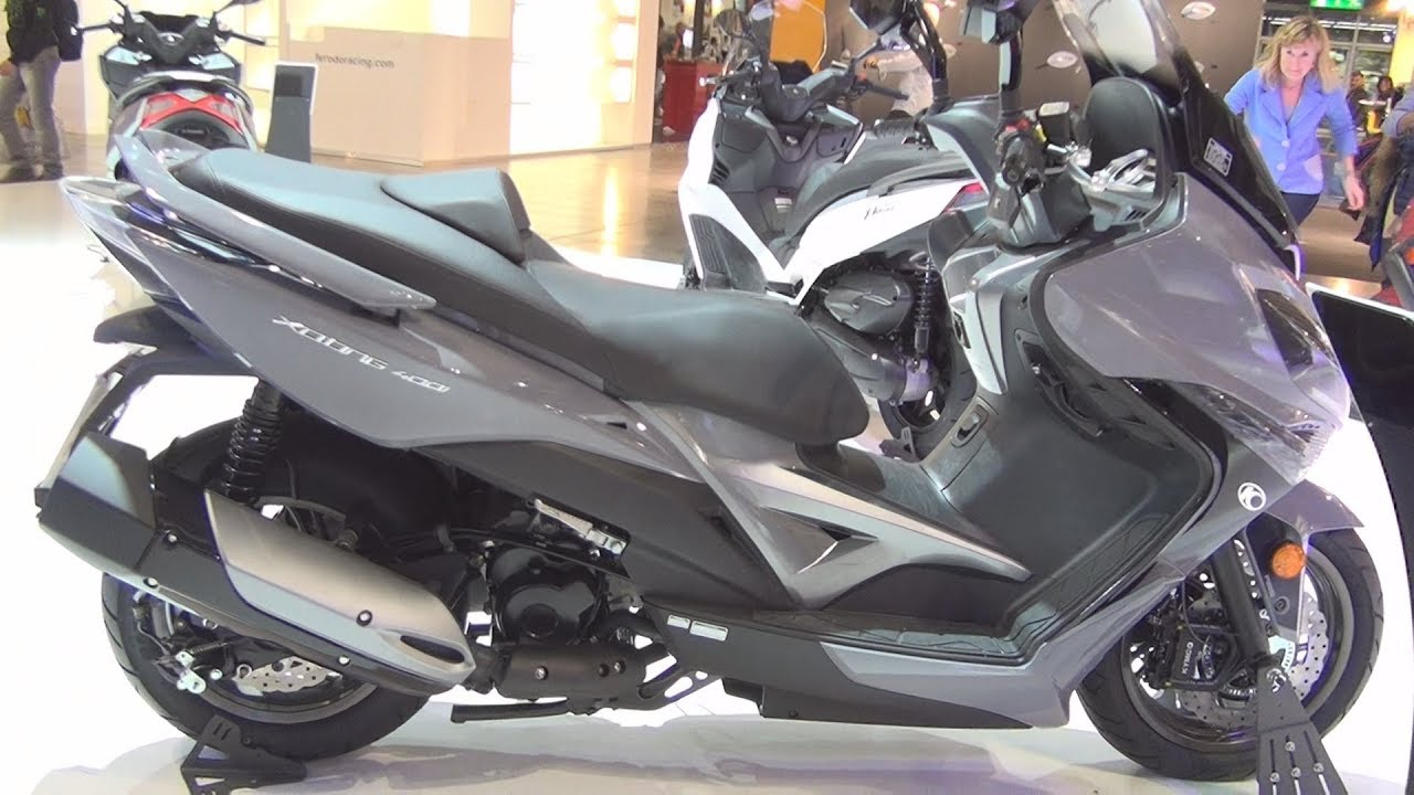 kymco xciting 400i abs 2017 exterior and interior youtube. Black Bedroom Furniture Sets. Home Design Ideas