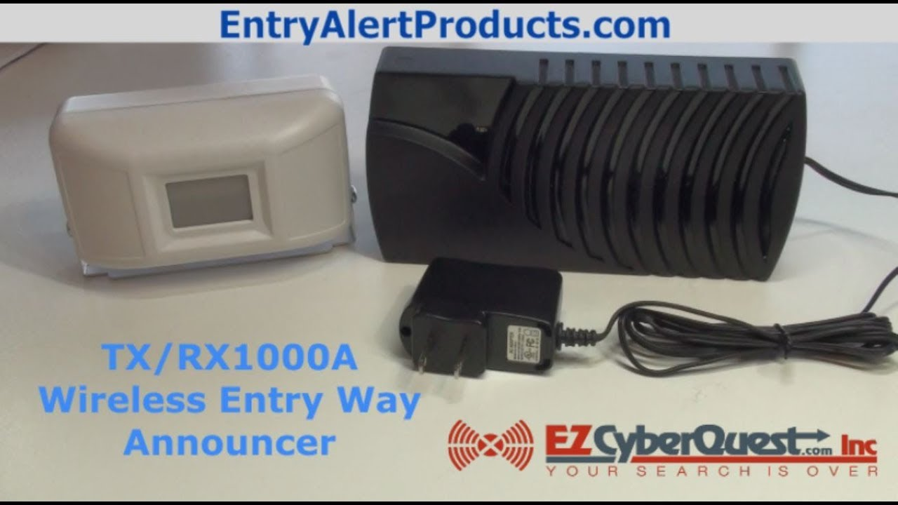 Entry Way Wireless Alert System Entry Way Alert Demo Youtube