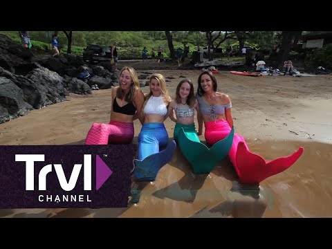 Be a Mermaid for a Day in Maui - Travel Channel