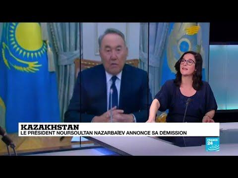 'C'est une énigme' : le président kazakh Noursoultan Nazarbaïev démissionne