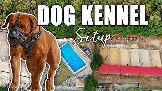 Dog KENNEL SETUP   Perfect for Breeding