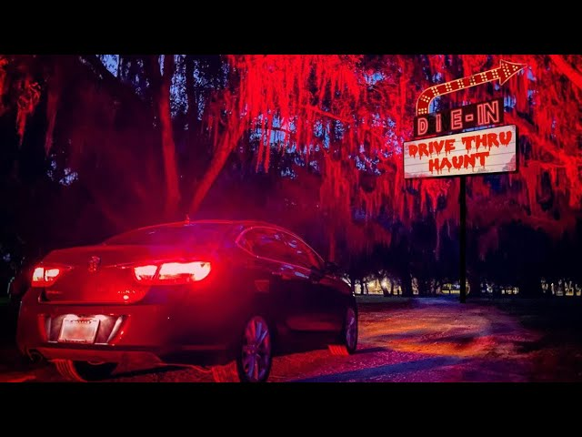Drive-Thru Haunted Attraction | Our First Look At How It's Going To Work | Scream N Stream Orlando