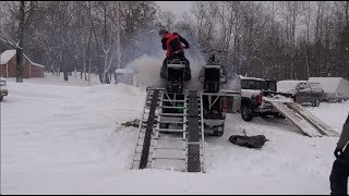 Dec 23rd Ride Part 1, Breaking in the pistons.  PowerModz!