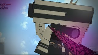 OUT OF THE MAP TRICKSHOTTING IN ROBLOX PHANTOM FORCES...