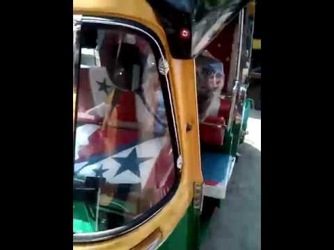 Auto Rickshaws Made By Mynor Seat Cover Youtube