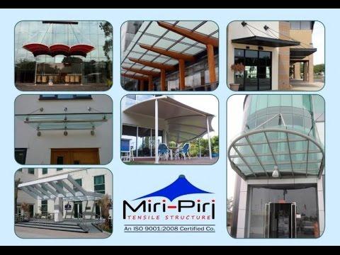 Specialist Professional Glass Canopy System Maker, Unique Latest Design Durable & Best Quality Delhi