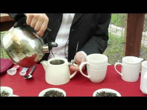 Basics of Brewing Tea : Warming the Teapot & Teacups