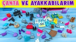 Barbie Ayakkabı Çanta Uyumu   BarbieShoe Bag Compliance   EvcilikTV