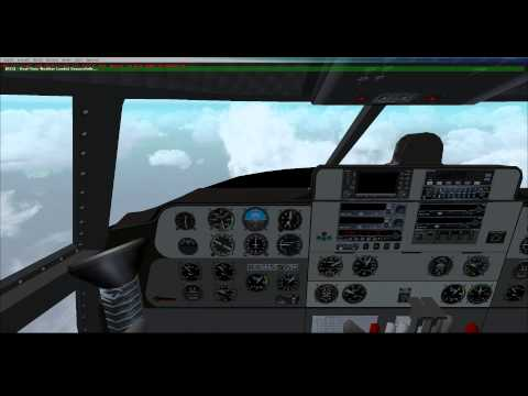 FSX - Buffalo Airways French Polynesia Tour - C-46 Commando - Leg 19