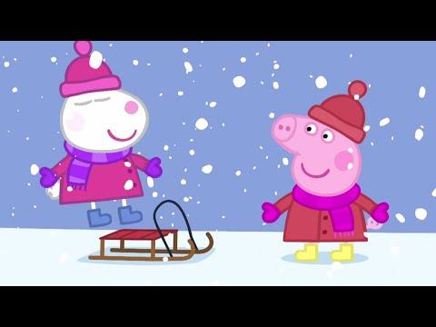 Peppa Pig Français ❄️Hiver! | Peppa Noël 🎁Dessin Animé
