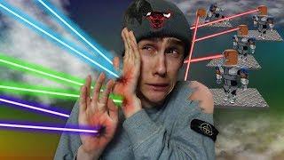 ES IST WIRKLICH NICHT SICHER HIER! (Roblox Laser Tycoon)