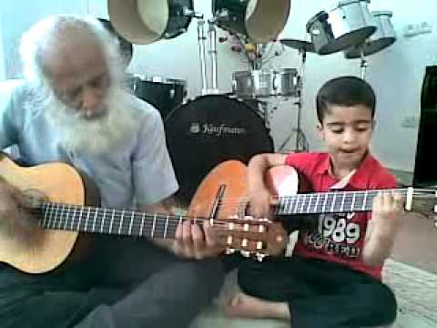 Ali Alavi with Ariyan, His 6 years old son