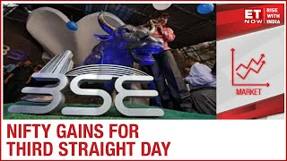 Nifty gains for third straight day; Above 13,100 (3rd Dec)