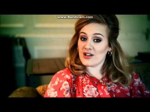 Adele - Personal video message at company AGM after PPL Chart success