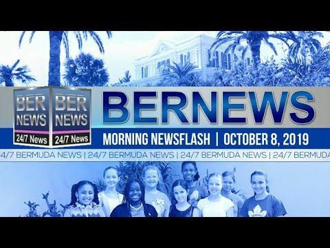 Bermuda Newsflash For Tuesday, October 8, 2019