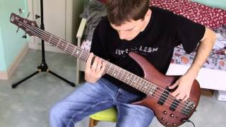 ʚ Amon Amarth - Live Without Regrets bass cover ɞ