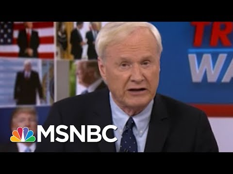 Chris Matthews: President Donald Trump Is Acting Like A Bad Guy | Hardball | MSNBC