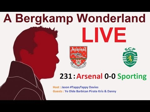 #ABWLive : 231 - Arsenal 0-0 Sporting Lisbon (Europa League) Mp3