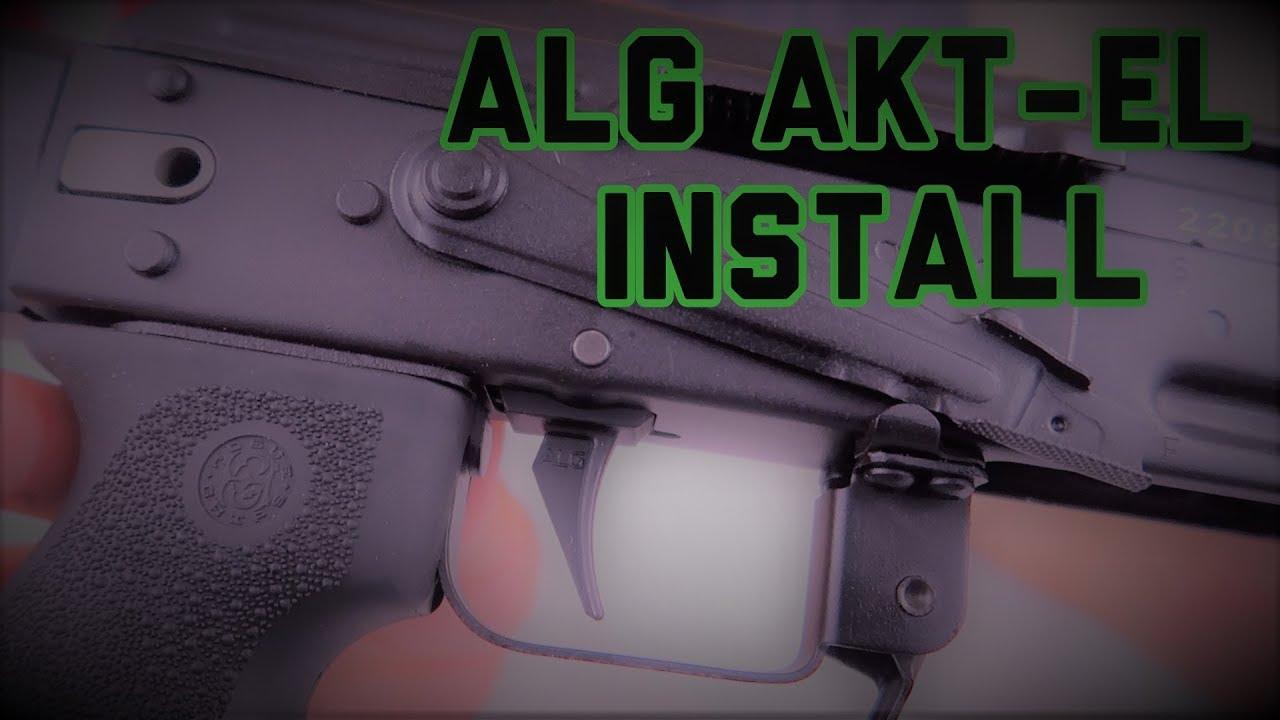 ALG AKT-EL TRIGGER INSTALL   SWEET AK TRIGGER!
