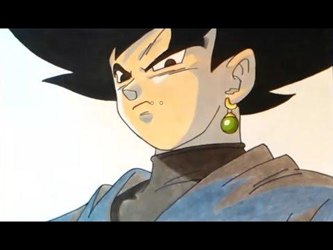 Cómo Dibujar A Gokú Black How To Draw Black Gokú Dragon Ball