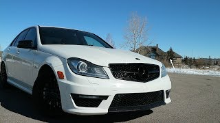 Here's Why The 2012 Mercedes C63 AMG Is The CRAZIEST Car You Can buy For $35,000 | Review